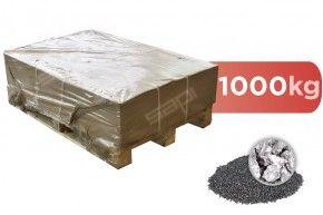 1000 kg Stahlguss kantig (Steel Grit) frei Haus DE
