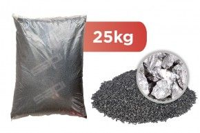 25 kg Stahlguss kantig (Steel Grit) frei Haus DE