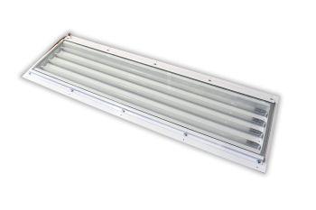 LED-Lackierhallenleuchte Ex Zone 1 und Ex Zone 2 | Einbauleuchte
