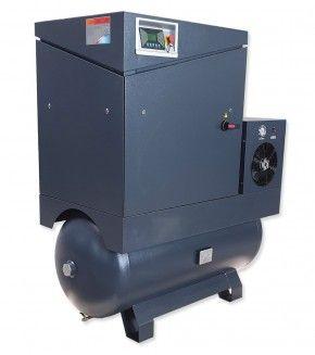 Schraubenkompressor 15 kW inkl. Kältetrockner und 500 L Behälter