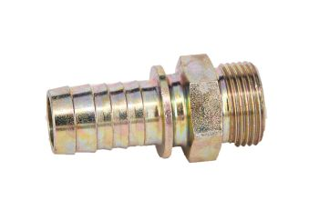 """Gewindetülle Stahl AG 1 1/4"""" für Schlauch 32 mm"""