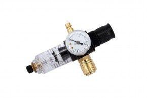 Atemluftregler mit Druckluftfilter