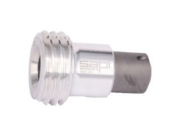 Winkelstrahldüse / Strahlkopf mit 3 Ausblasöffnungen
