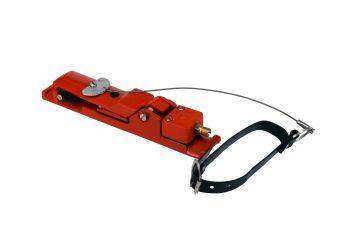 Handhebel - Staudruckhebel mit Arretierung für 1 Steuerleitungssysteme
