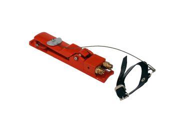 Handhebel - Staudruckhebel mit Arretierung für Doppelsteuerleitungssysteme