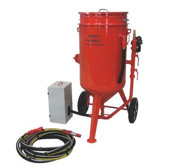 Sandstrahlgeräte MAMMUT - Komplettsysteme mit Sicherheitsabschaltung SAPI