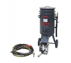 Premium Feinstrahlgerät 60 Liter | mit integrierter Sicherheits-Schnellstoppabschaltung
