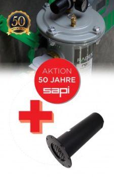 Aktivkohlefilter RADEX-SET 50 Jahre SAPI