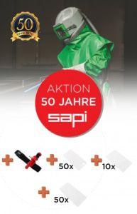 Schutzmaske NOVA 1 Set - Aktion 50 Jahre SAPI