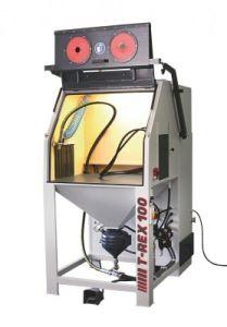 T-Rex 100 | Hochleistungs-Druck-/Injektor-Strahlkabine | Doppel-Power